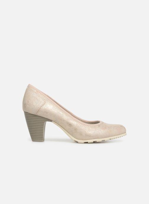 High heels S.Oliver Lillya Beige back view
