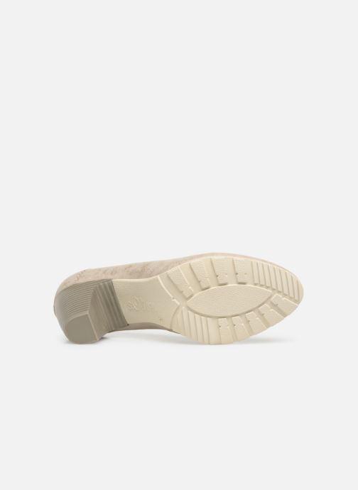 Zapatos de tacón S.Oliver Lillya Beige vista de arriba