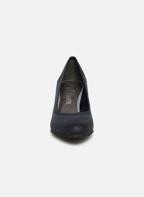 Escarpins S.Oliver Lillya Bleu vue portées chaussures