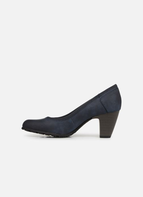 High heels S.Oliver Lillya Blue front view