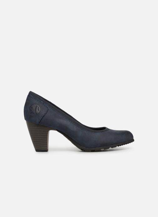 High heels S.Oliver Lillya Blue back view