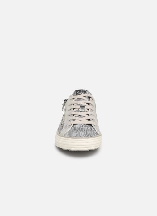 Baskets S.Oliver Arani Gris vue portées chaussures