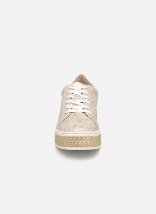 Baskets S.Oliver Kira Or et bronze vue portées chaussures
