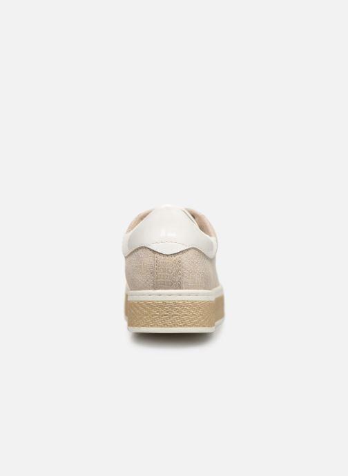 Baskets S.Oliver Kira Or et bronze vue droite