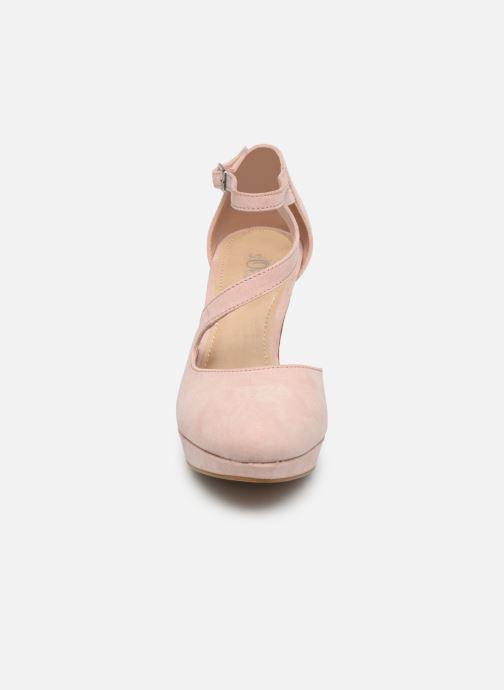 Escarpins S.Oliver Liela Rose vue portées chaussures