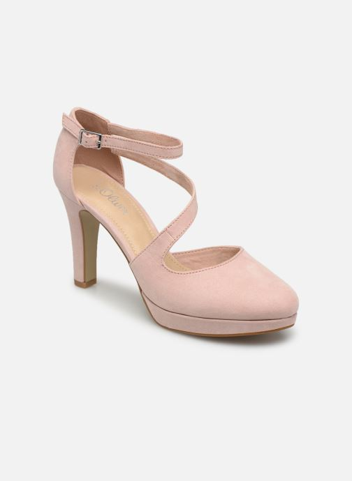 High heels S.Oliver Liela Pink detailed view/ Pair view