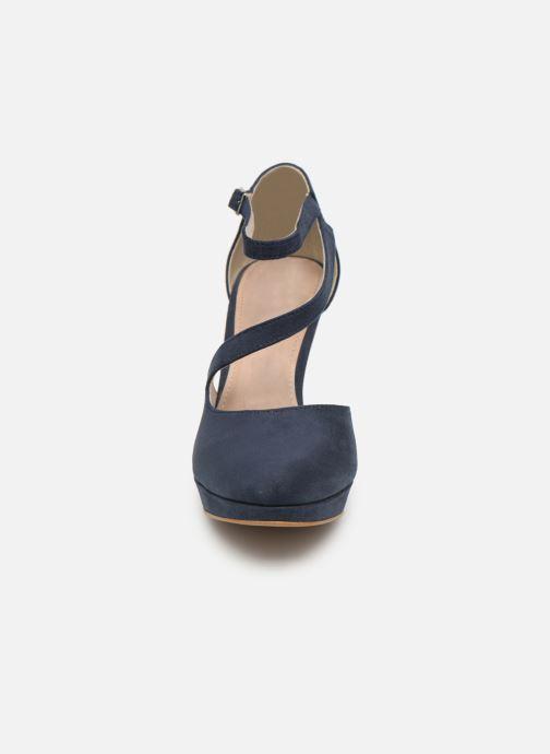 Escarpins S.Oliver Liela Bleu vue portées chaussures