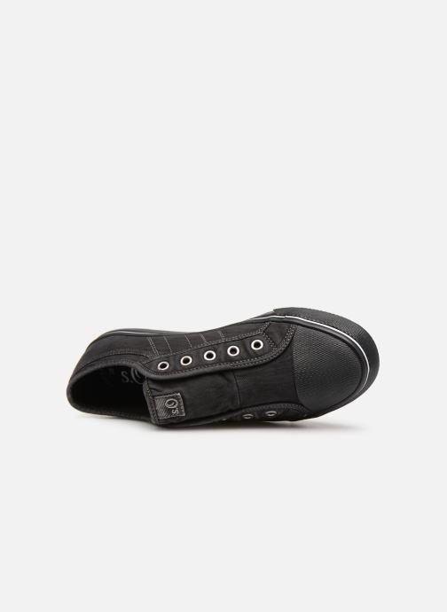 Sneakers S.Oliver Kora Zwart links