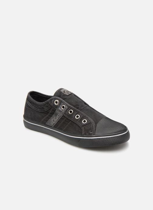 Sneakers S.Oliver Kora Sort detaljeret billede af skoene