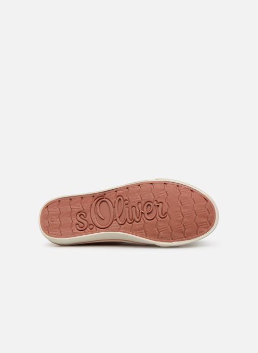 Sneakers S.Oliver Kora Rosa immagine dall'alto