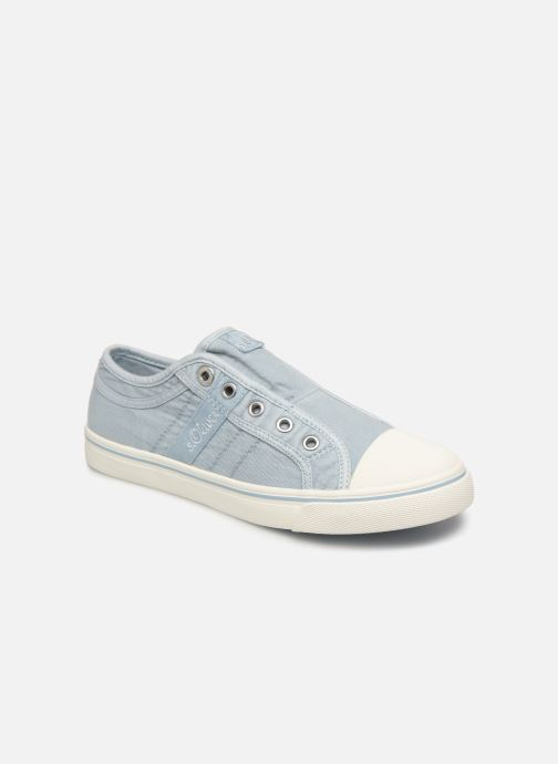 Trainers S.Oliver Kora Blue detailed view/ Pair view