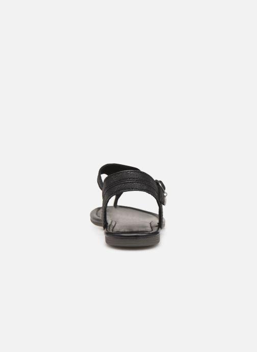 Sandales et nu-pieds S.Oliver Aylin Noir vue droite