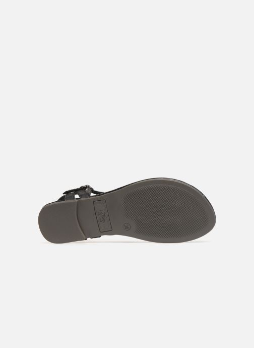 Sandals S.Oliver Aylin Black view from above