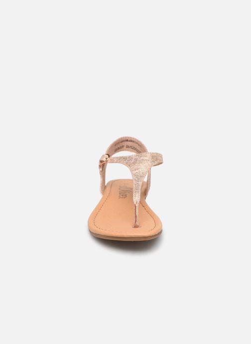 Sandalen S.Oliver Aylin rosa schuhe getragen