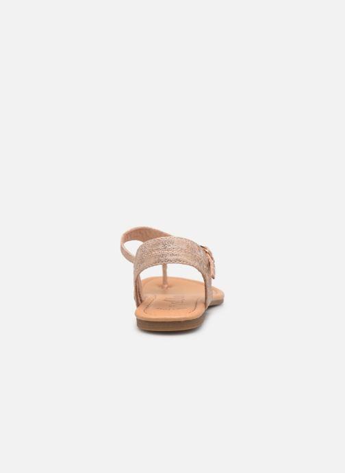 Sandales et nu-pieds S.Oliver Aylin Rose vue droite