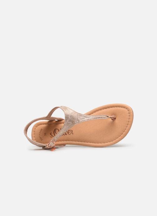 Sandales et nu-pieds S.Oliver Aylin Rose vue gauche