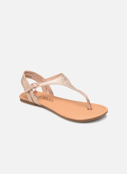 Sandals S.Oliver Aylin Pink detailed view/ Pair view