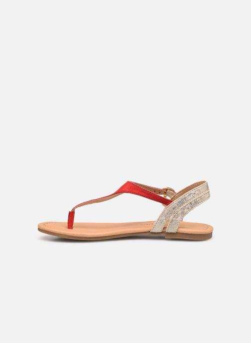 Sandali e scarpe aperte S.Oliver Rita Rosso immagine frontale