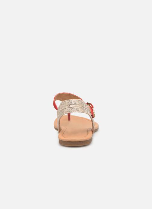 Sandales et nu-pieds S.Oliver Rita Rouge vue droite