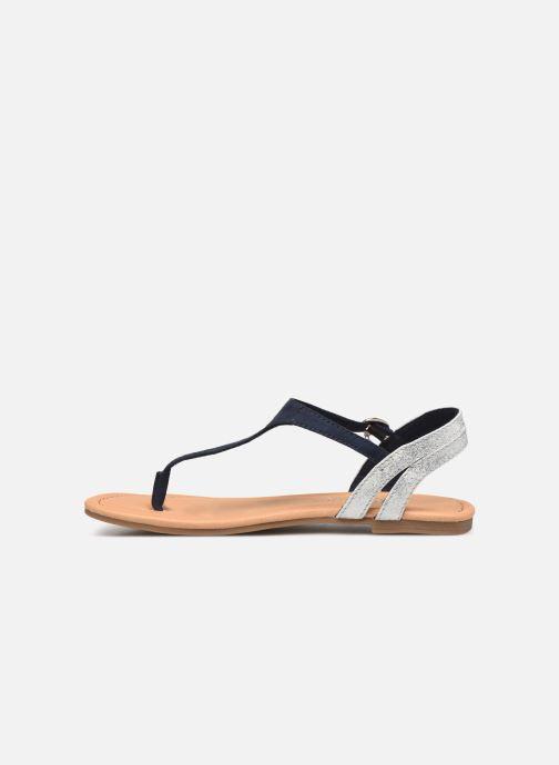 Sandales et nu-pieds S.Oliver Rita Bleu vue face
