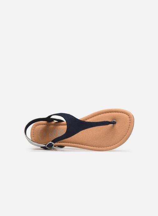 Sandales et nu-pieds S.Oliver Rita Bleu vue gauche
