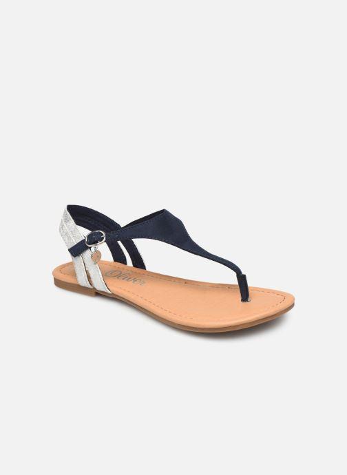 Sandales et nu-pieds S.Oliver Rita Bleu vue détail/paire