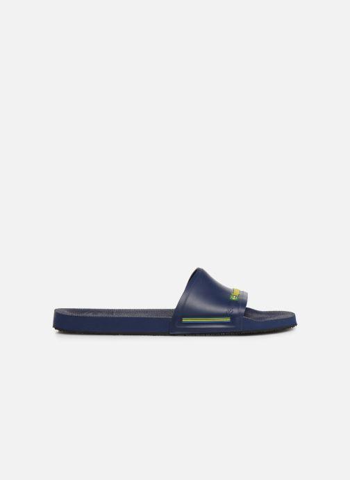 Sandalen Havaianas Slide Brasil blau ansicht von hinten