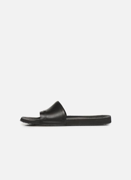 Sandales et nu-pieds Havaianas Slide Brasil Bleu vue face