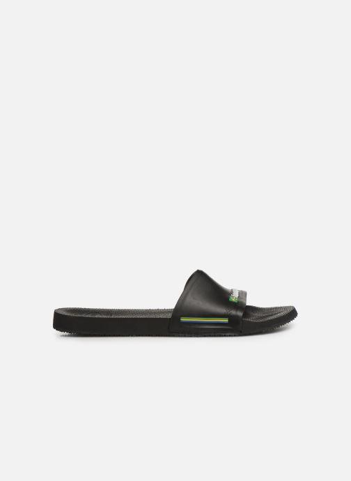 Sandales et nu-pieds Havaianas Slide Brasil Bleu vue derrière