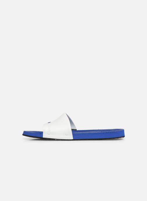 Sandali e scarpe aperte Havaianas Slide Brasil Bianco immagine frontale