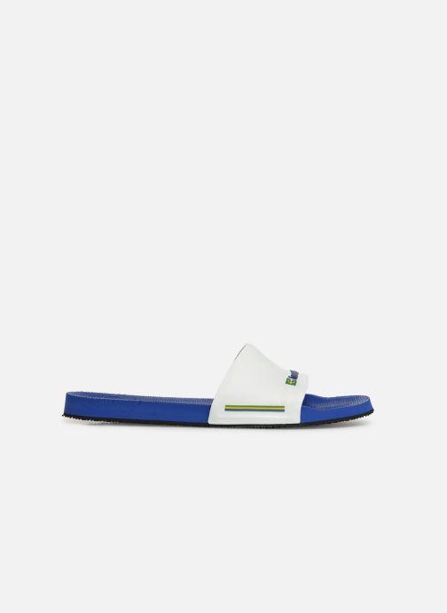 Sandali e scarpe aperte Havaianas Slide Brasil Bianco immagine posteriore