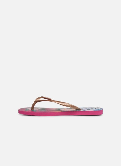 Tongs Havaianas Slim Tropical Sunset Multicolore vue face
