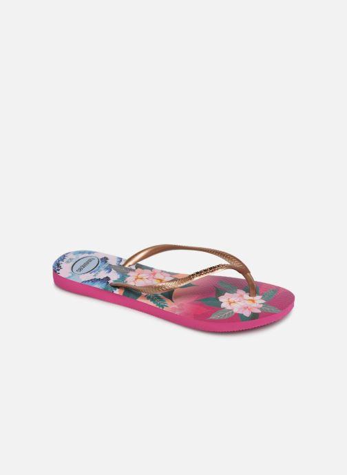 Flip flops & klipklapper Havaianas Slim Tropical Sunset Multi detaljeret billede af skoene
