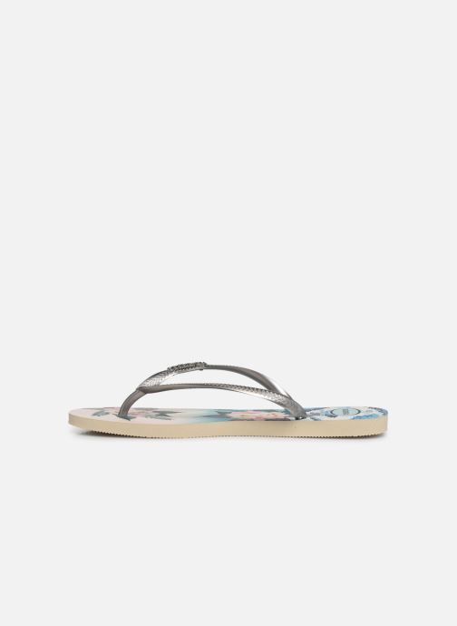 Chanclas Havaianas Slim Tropical Sunset Multicolor vista de frente