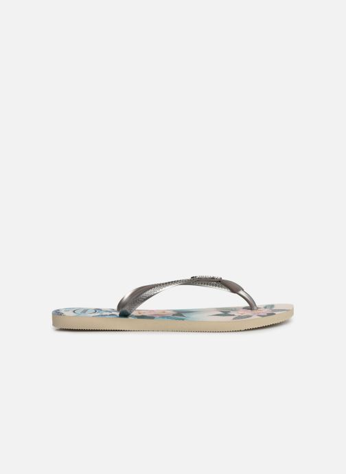 Tongs Havaianas Slim Tropical Sunset Multicolore vue derrière