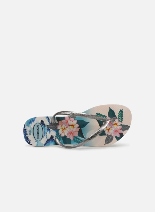 Chanclas Havaianas Slim Tropical Sunset Multicolor vista lateral izquierda