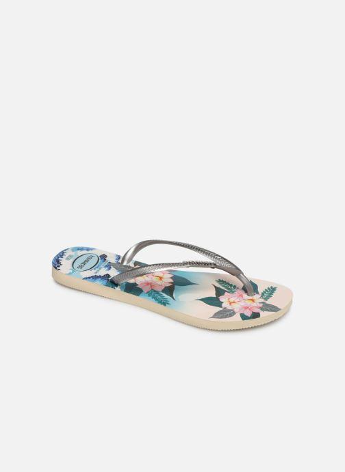 Slippers Dames Slim Tropical Sunset