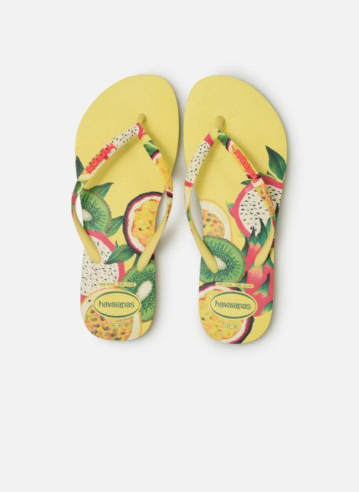 Tongs Havaianas Slim Sensation Multicolore vue portées chaussures