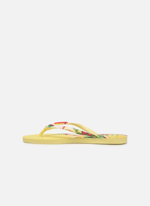 Flip flops Havaianas Slim Sensation Multicolor front view