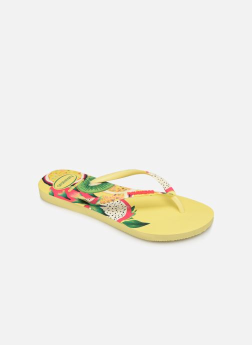Tongs Havaianas Slim Sensation Multicolore vue détail/paire