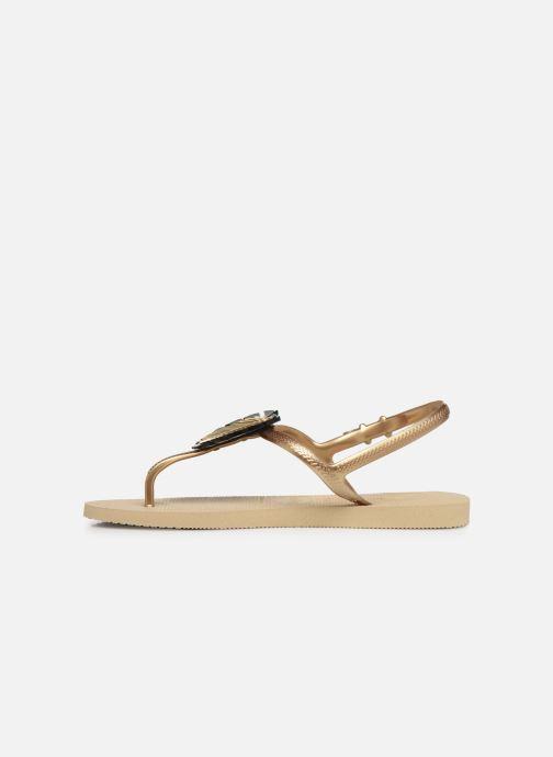 Sandali e scarpe aperte Havaianas Freedom Metal Pin Beige immagine frontale