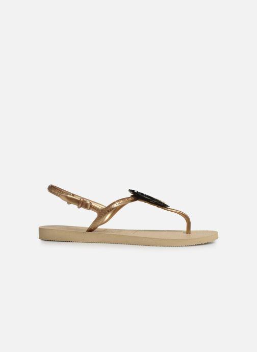 Sandali e scarpe aperte Havaianas Freedom Metal Pin Beige immagine posteriore