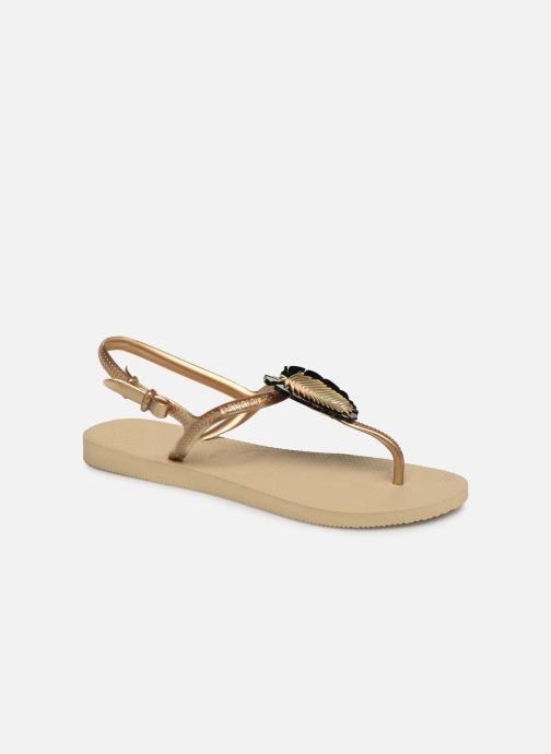 Sandali e scarpe aperte Havaianas Freedom Metal Pin Beige vedi dettaglio/paio