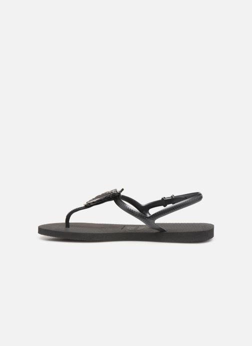 Sandalen Havaianas Freedom Metal Pin Zwart voorkant