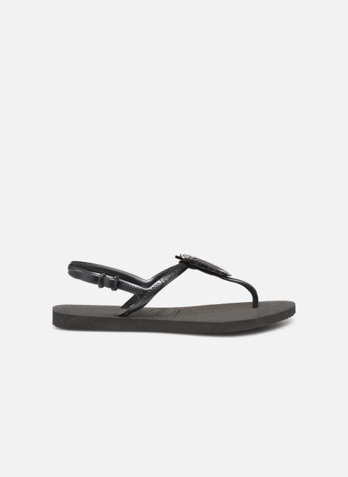 Sandalen Havaianas Freedom Metal Pin Zwart achterkant