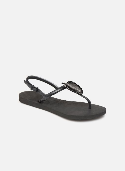 5477e9b0a874 Havaianas Freedom Metal Pin (Black) - Sandals chez Sarenza (351005)