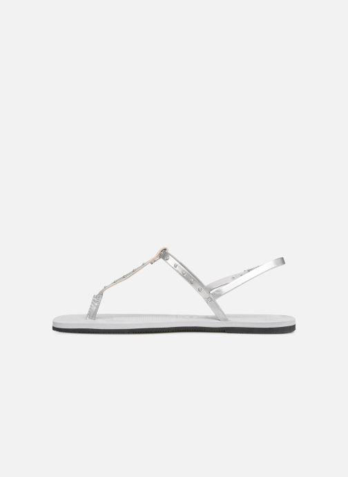 Sandales et nu-pieds Havaianas You Riviera Maxi Gris vue face