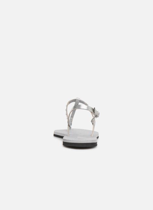 Sandales et nu-pieds Havaianas You Riviera Maxi Gris vue droite