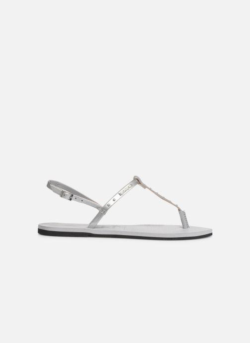 Sandales et nu-pieds Havaianas You Riviera Maxi Gris vue derrière