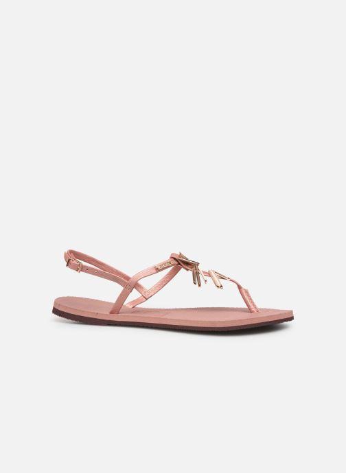 Sandalen Havaianas You Riviera Maxi rosa ansicht von hinten
